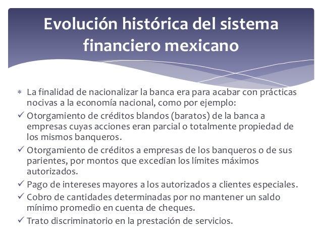 Sistema financiero mexicano5 03 for Oficinas de banco financiero