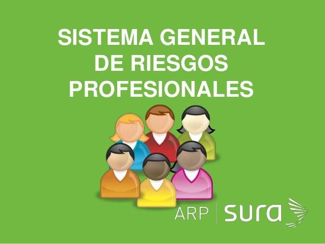 ARP SURASISTEMA GENERALDE RIESGOSPROFESIONALES
