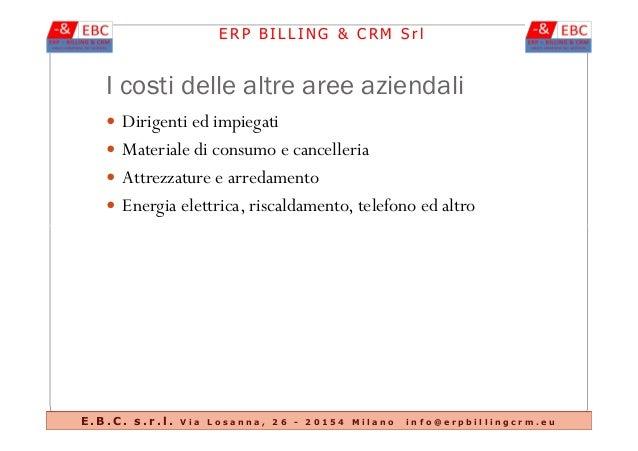 Sistema gestionale contabilit analitica erp billing crm for Ammortamento arredamento