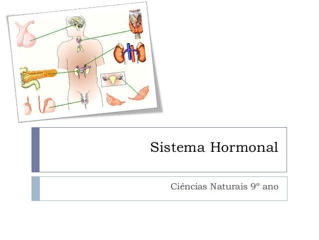 Sistema Hormonal Ciências Naturais 9º ano