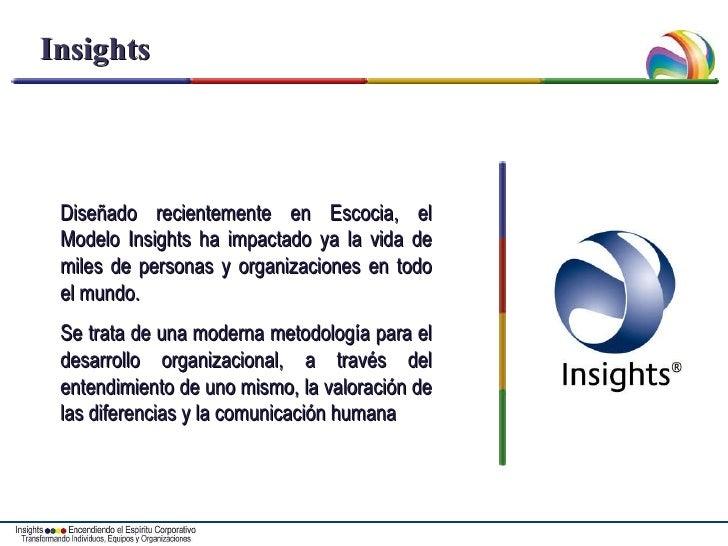 Insights Diseñado recientemente en Escocia, el Modelo Insights ha impactado ya la vida de miles de personas y organizacion...