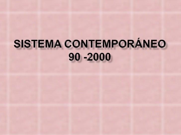 Sistema internacional contemporaneo[1]