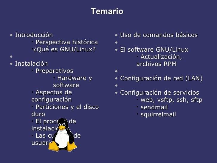 Sistema linux Slide 2