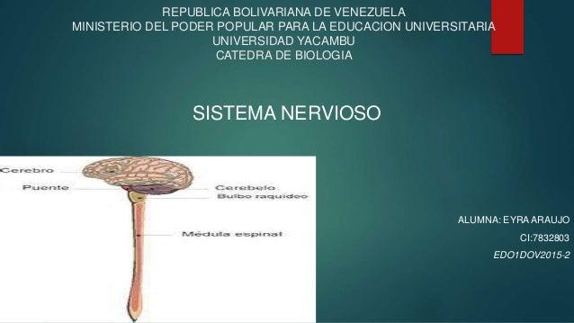 REPUBLICA BOLIVARIANA DE VENEZUELA MINISTERIO DEL PODER POPULAR PARA LA EDUCACION UNIVERSITARIA UNIVERSIDAD YACAMBU CATEDR...