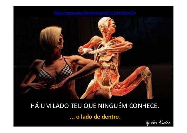 https://www.youtube.com/watch?v=SrhuWJanyPo by Ana Kastro HÁ UM LADO TEU QUE NINGUÉM CONHECE. ... o lado de dentro.