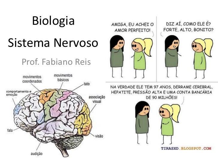 Biologia<br />Sistema Nervoso<br />Prof. Fabiano Reis<br />