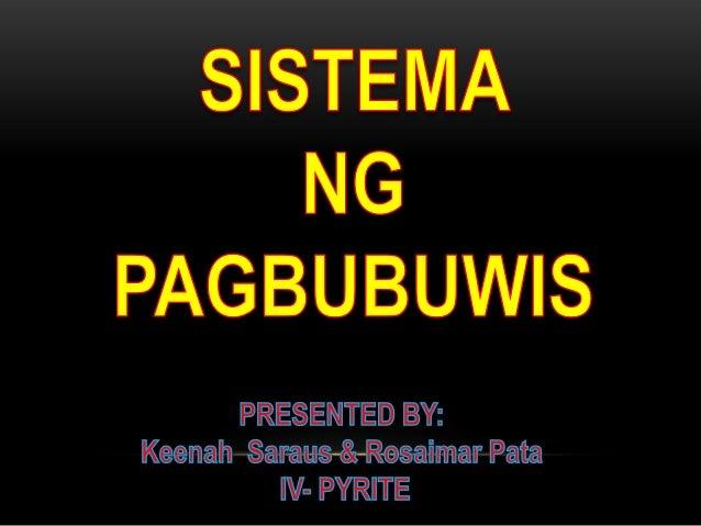 SISTEMA NG PAGBUBUWIS Ang buwis na sinisingil ng pamahalaan ay may iba't ibang uri ayon sa pagbabayad, layunin at paraan.