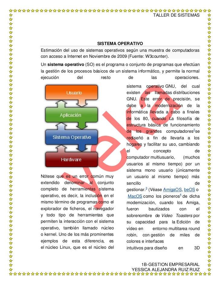 SISTEMA OPERATIVO<br />Estimación del uso de sistemas operativos según una muestra de computadoras con acceso a Internet e...