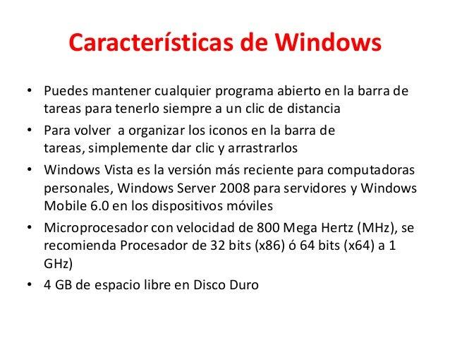 Sistema operativo Slide 2