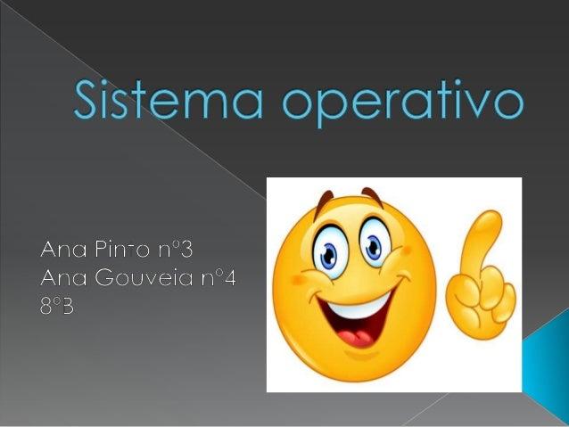  É um programa ou conjunto de programas que tem como função servir de interface entre o computador e o usuário.  É respo...
