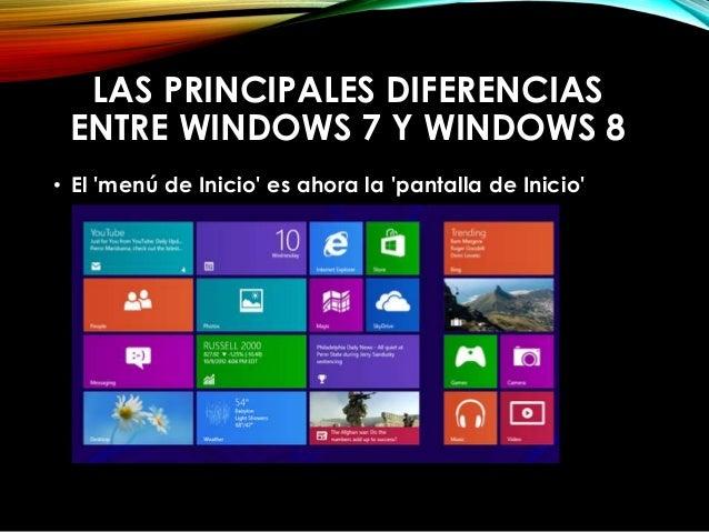 • Ahora es necesario saber ocupar la tecla de Windows  • Ya no es tan intuitivo apagar el computador