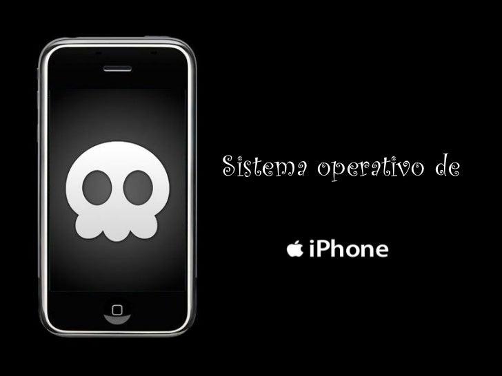 Sistema operativo de