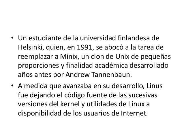 Sistema operativo linux UEFSDA    1 BGU Slide 2