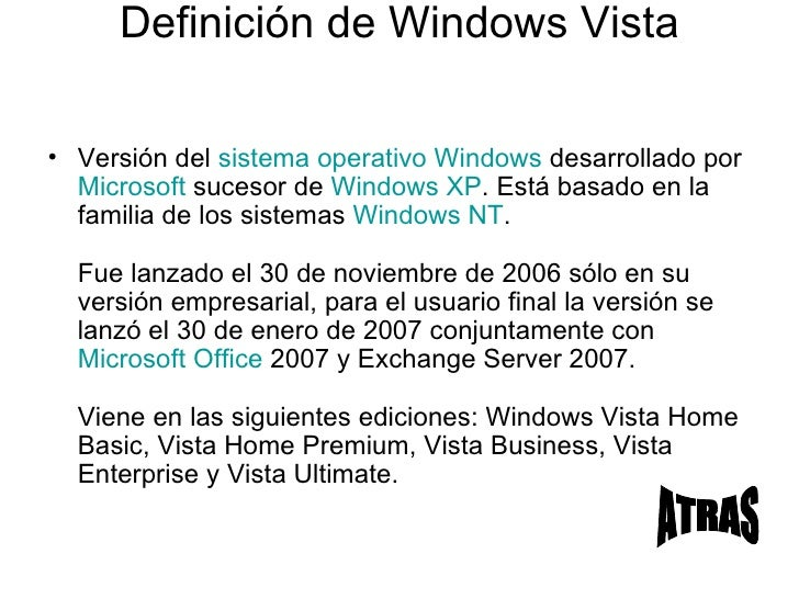 Concepto De Windows Vista Ultimate