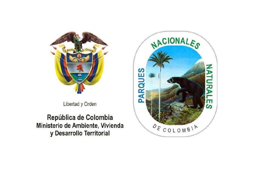 Sistema de Parques Nacionales     Naturales de Colombia
