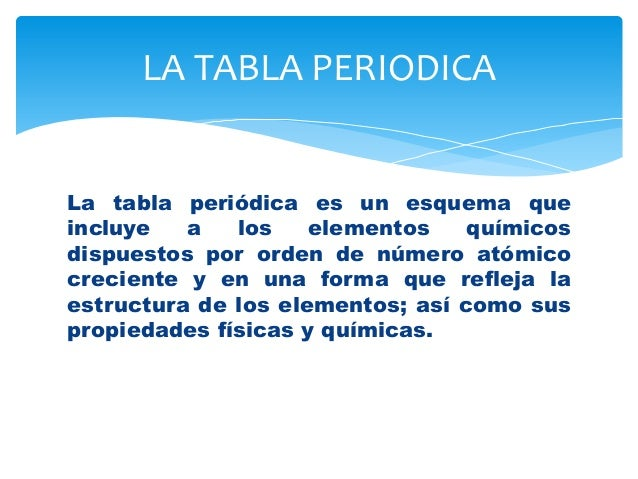 Estructura de la tabla periodica qumica 2 la tabla periodica la tabla peridica urtaz Choice Image