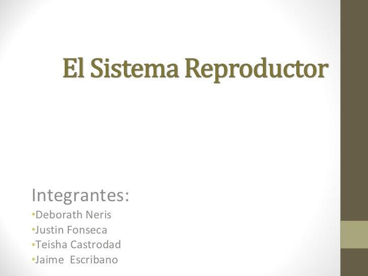 <ul><li>Integrantes: </li></ul><ul><li>Deborath Neris </li></ul><ul><li>Justin Fonseca </li></ul><ul><li>Teisha Castrodad ...