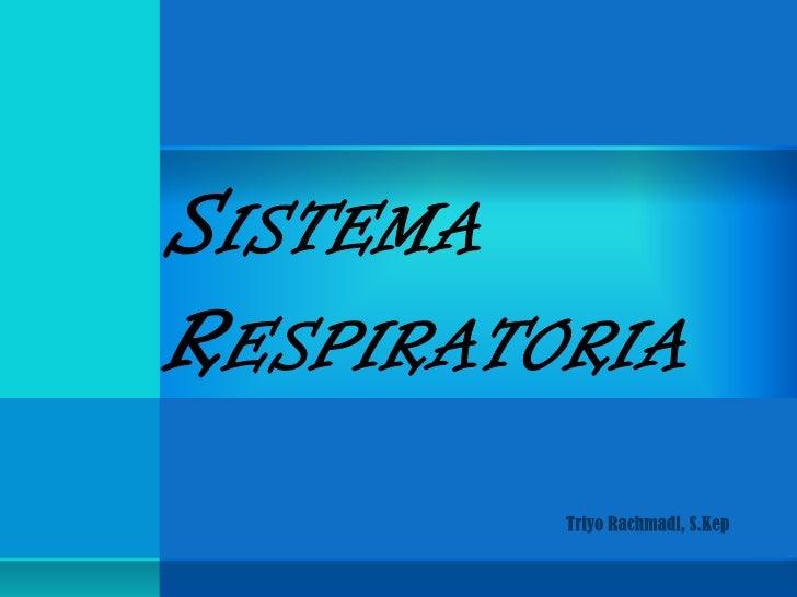 SISTEMARESPIRATORIA