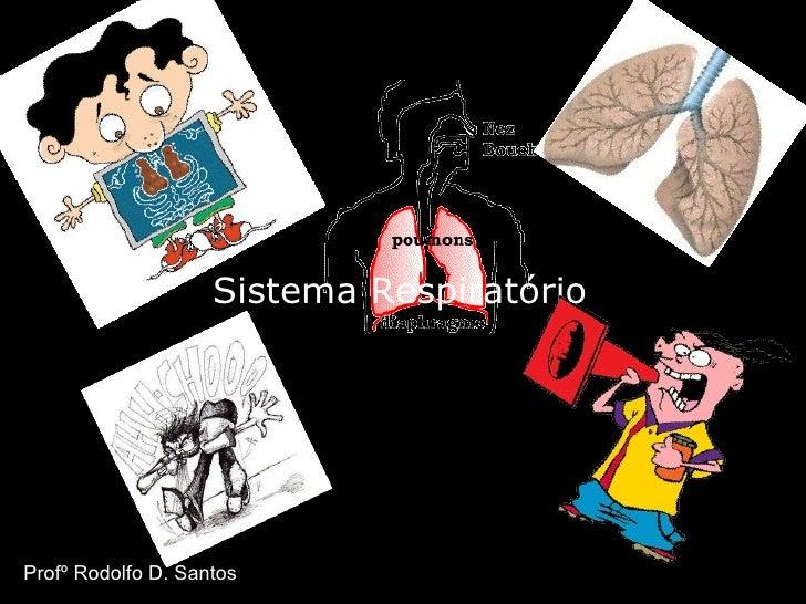 Sistema Respiratório Profº Rodolfo D. Santos