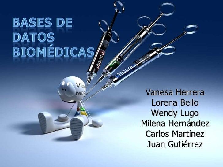 Vanesa Herrera Lorena Bello Wendy Lugo Milena Hernández Carlos Martínez Juan Gutiérrez