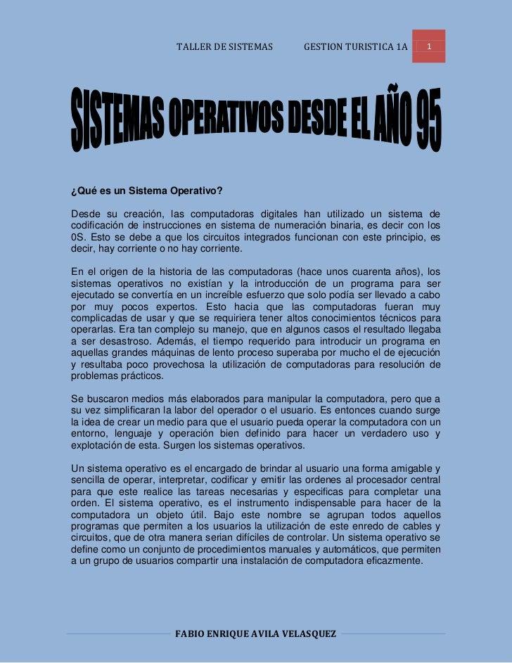 ¿Qué es un Sistema Operativo?<br />Desde su creación, las computadoras digitales han utilizado un sistema de codificación ...