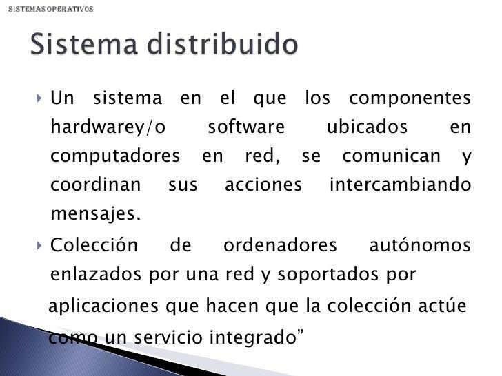 Sistemas Distribuidos Slide 2