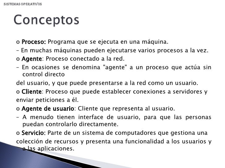 Sistemas Distribuidos Slide 3