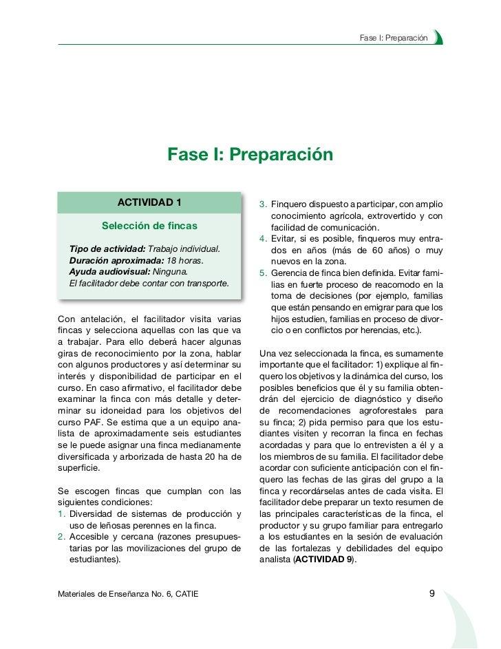 Planificación agroforestal de fincas                ACTIVIDAD 2                                       ACTIVIDAD 4       Ac...