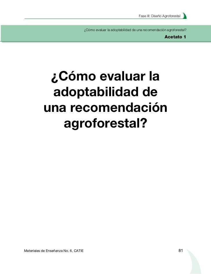 Planificacion Agroforestal de Fincas