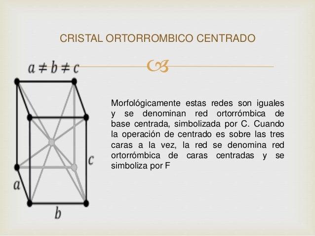 Sistemas Cristalinos La Mayoria
