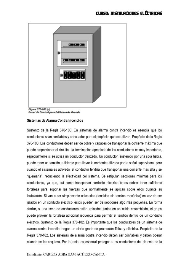 Sistemas de alarma contra incendio - Sistemas de alarma ...