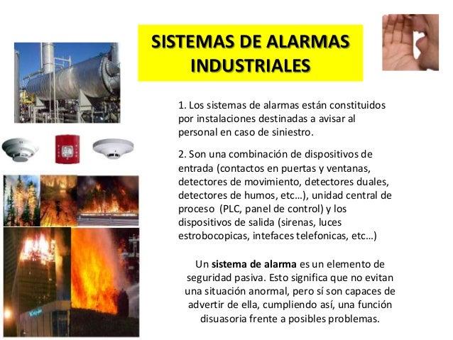 Introducci n a los sistemas de alarmas industriales - Sistemas de alarma ...