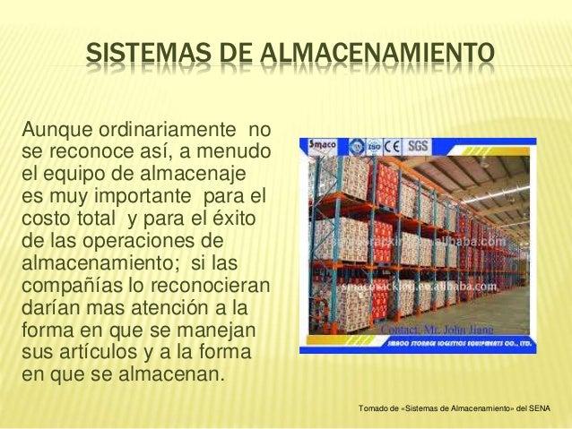 Sistemas de almacenamiento - Sistemas de almacenaje ...