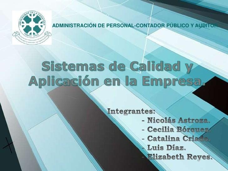 ADMINISTRACIÓN DE PERSONAL-CONTADOR PÚBLICO Y AUDITOR.
