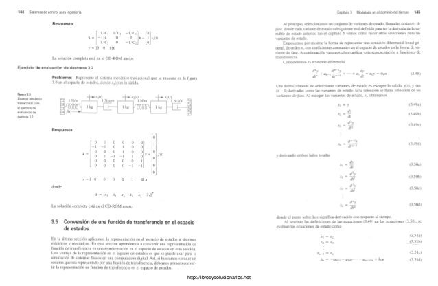 Sistemas de control para ingenieria. 3ra edición Norman S