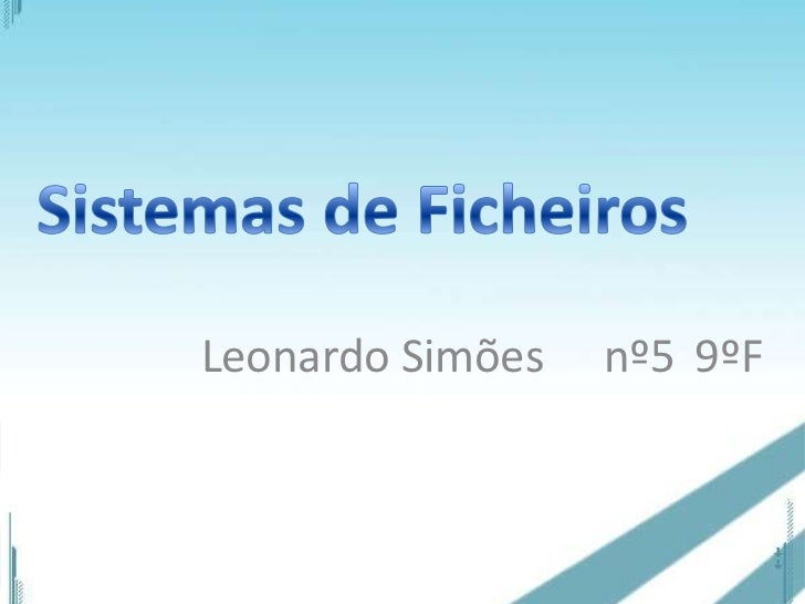 Leonardo Simões   nº5 9ºF