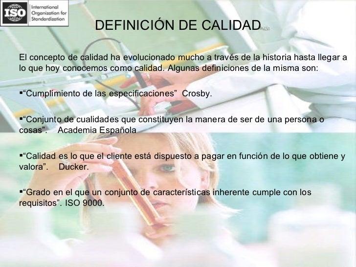 Sistemas De Gestión De Calidad (Iso 9001) Slide 2