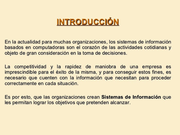 Sistemas de informacion Empresarial Slide 2