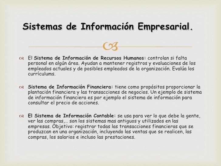 Sistemas de Información Empresarial.                                    El Sistema de Información de Recursos Humanos: c...