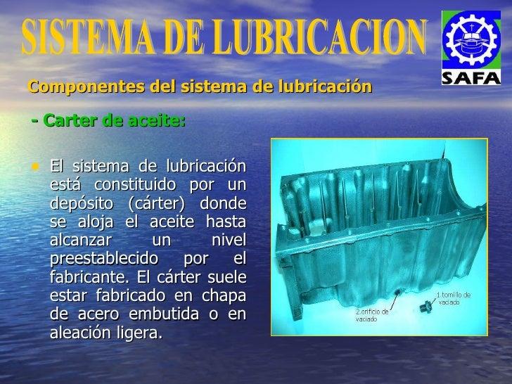 Sistema de lubricación slideshare