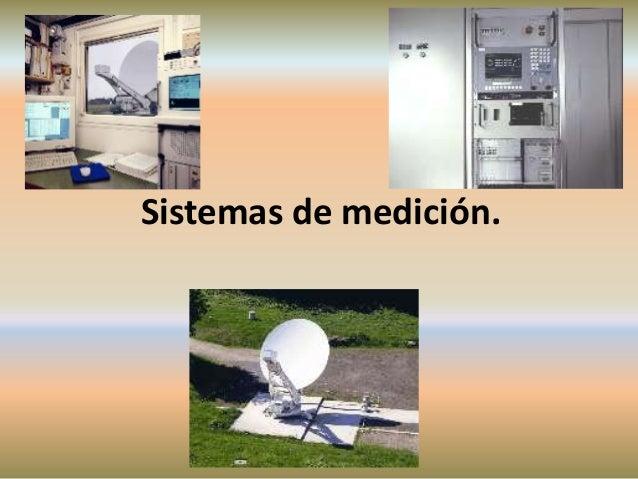 Sistemas de medición.
