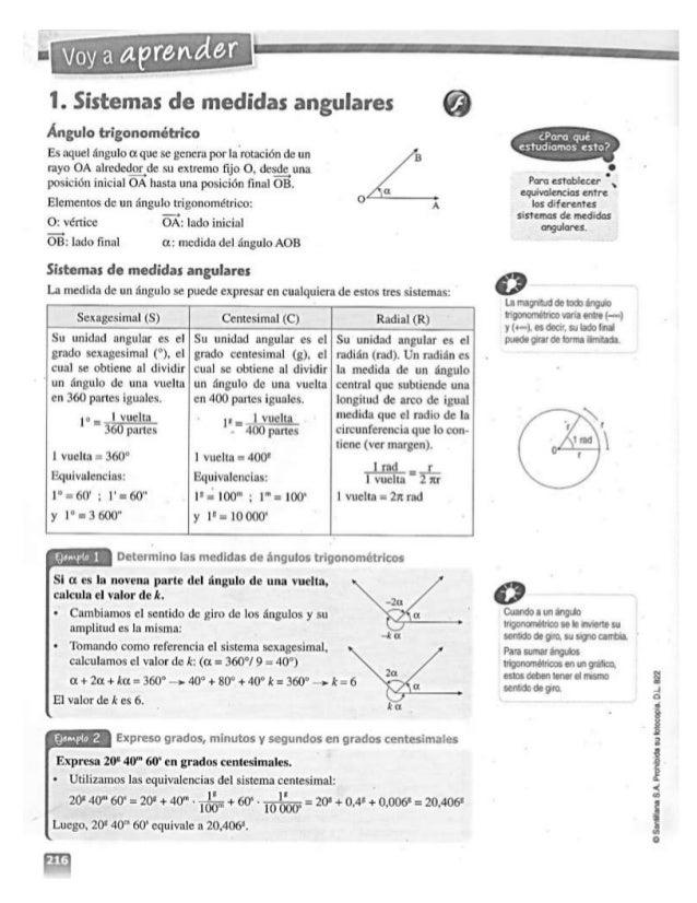 "AJ' ""z-l  ¡Íly Ç  I.  ;utentes  de medidas an  . Arw l  O' b  Ângulo trígonométríco  Es : Iqucl angulo ot que . sc general..."