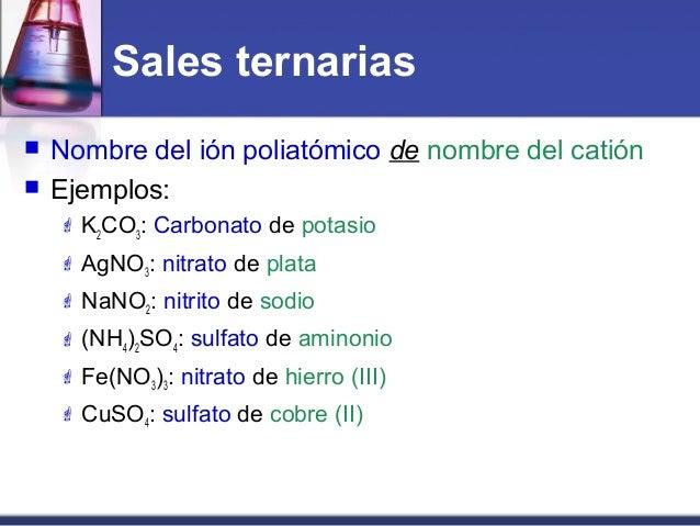 Sistemas de nomenclatura quimica