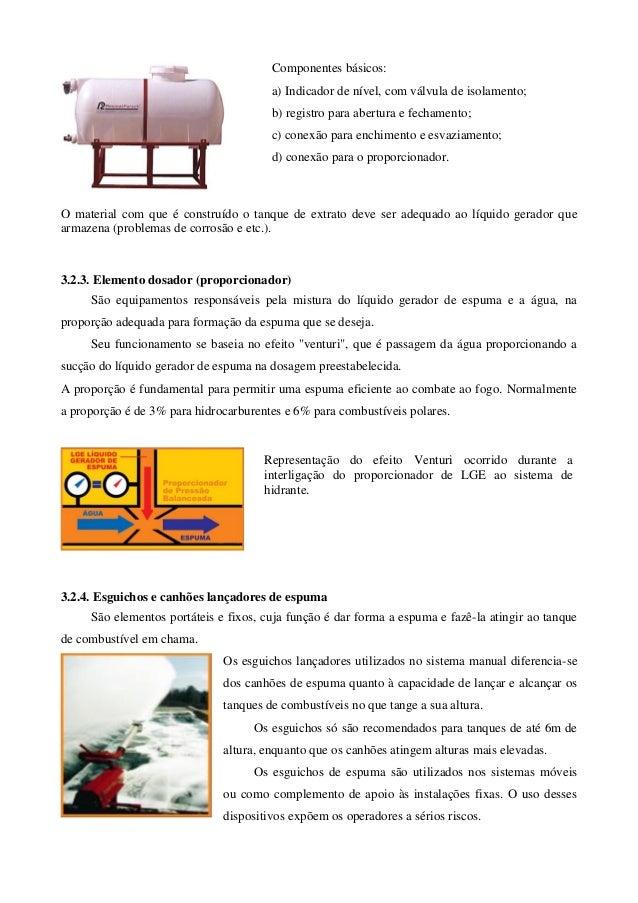 Componentes básicos:                                       a) Indicador de nível, com válvula de isolamento;              ...