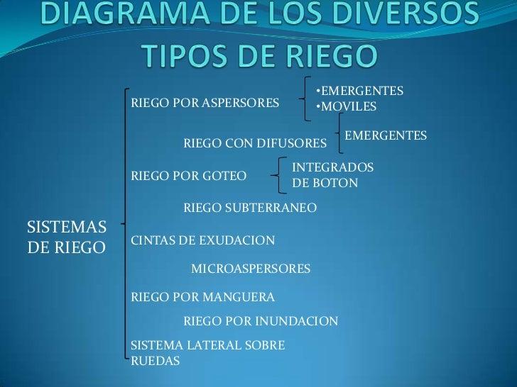 Sistemas y o tipos de riego - Tipos de riego por goteo ...