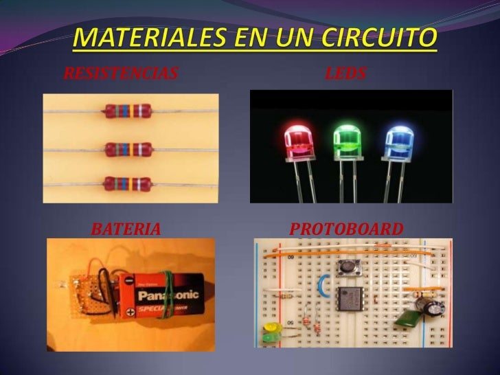 Circuito Electrico Simple Materiales : Circuito en serie