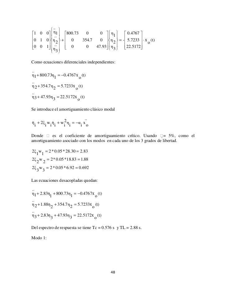 Unidad 5 sistemas de varios grados de libertad pdf