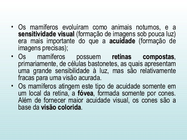 • Os mamíferos apresentam uma orelha média mais complexa do que a dos demais tetrápodes; • Eles contém uma série de três o...
