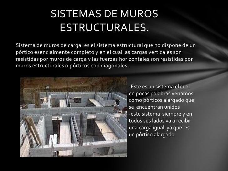 sistemas de muros