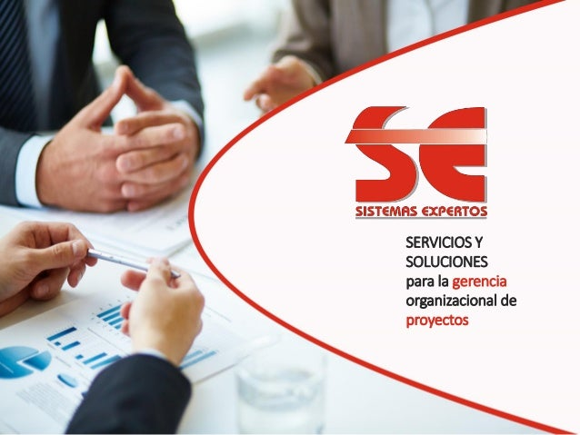 SERVICIOS Y SOLUCIONES para la gerencia organizacional de proyectos